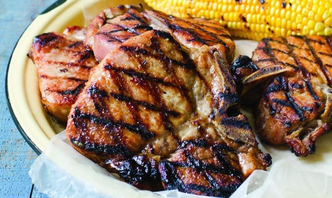 Food Network Barbecue Pork Chops