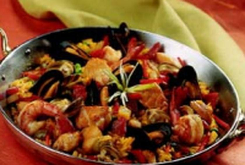 Red Lobster South Beach Seafood Paella Recipe