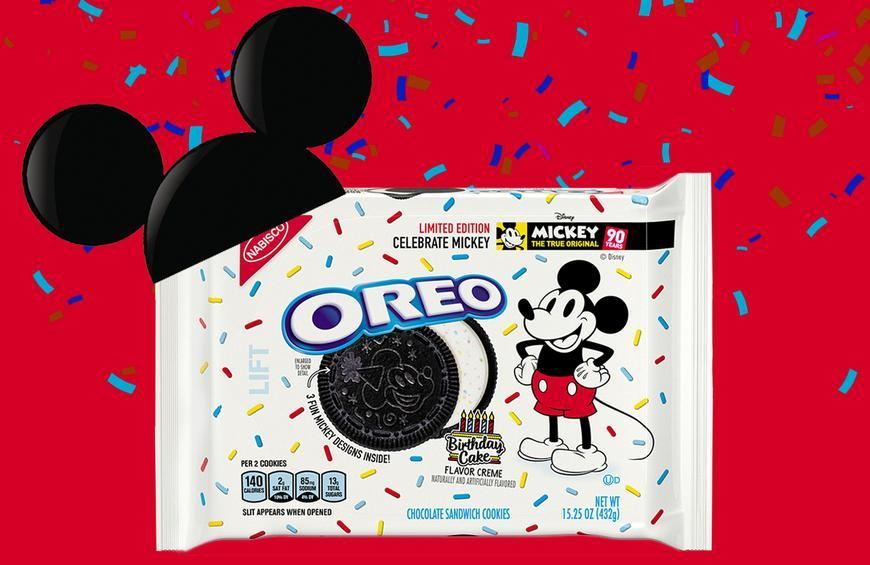 Oreo Celebrates Mickey Mouses 90th Birthday With Special Cookies