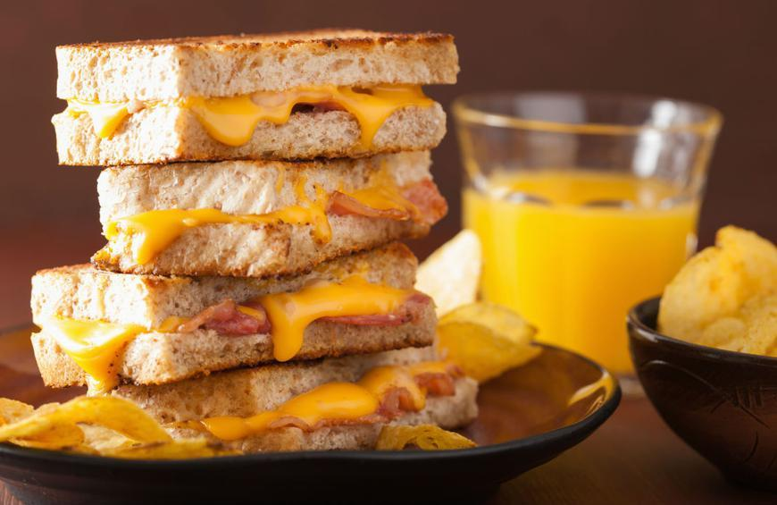 Chrissy Teigen S Brie And Peach Grilled Cheese Recipe By Hannah Hoskins