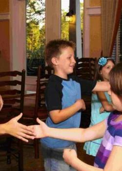 Make sure you have the most polite kid at the party!