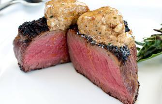 Buffalo Tenderloin Steak with Chili Espresso Rub