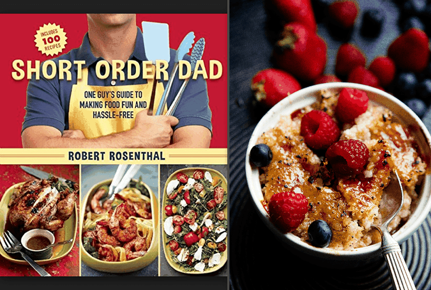 short order dad one guy s guide to making food fun and hassle free