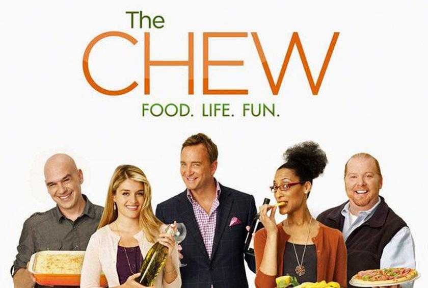 the chew from the television to your kitchen with the official cookbook