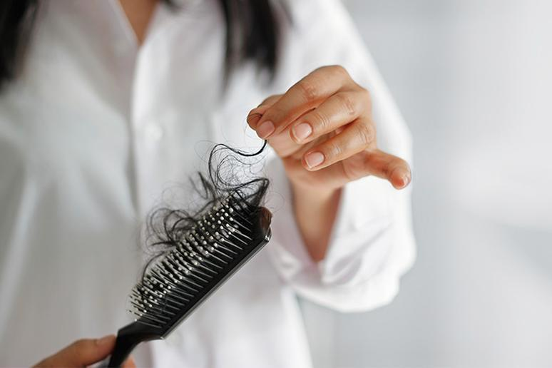 Your hair may begin thinning