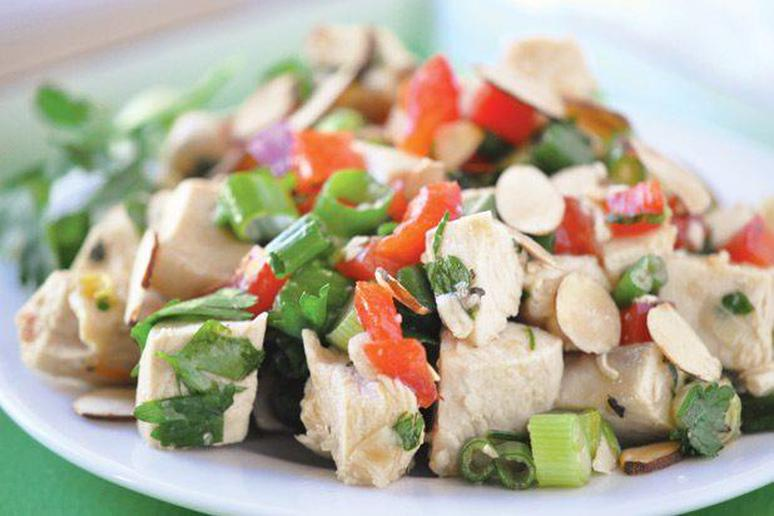 Chicken Salad with Asian Vinaigrette