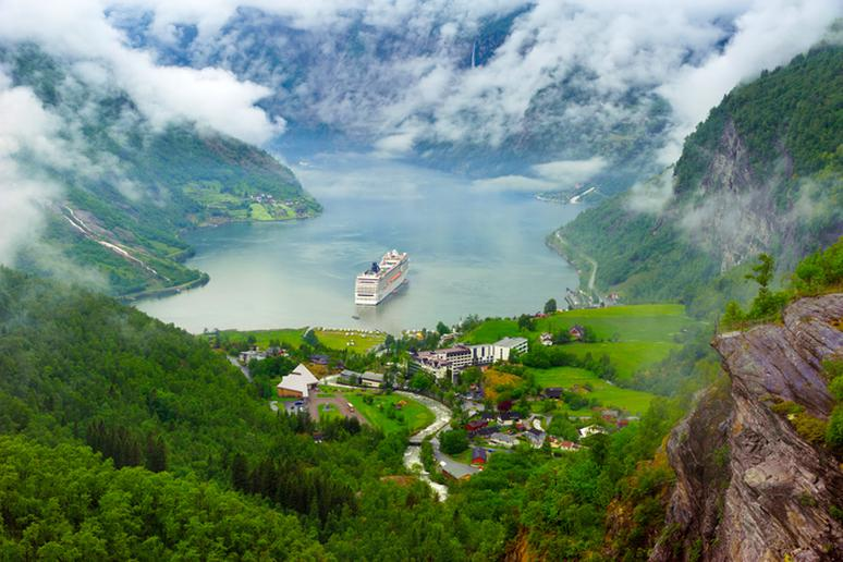 12. Fjord Cruise in Norway