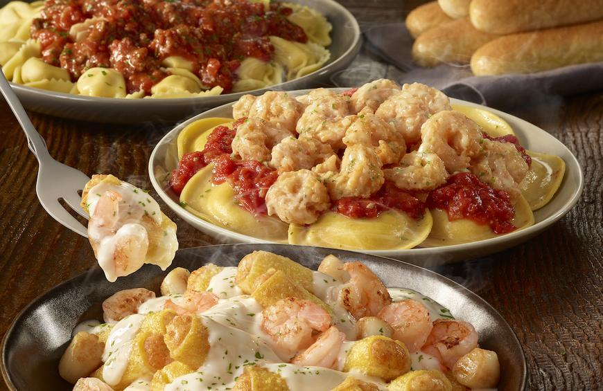 Menu For Olive Garden: Olive Garden Created A Never-Ending Stuffed Pasta Menu
