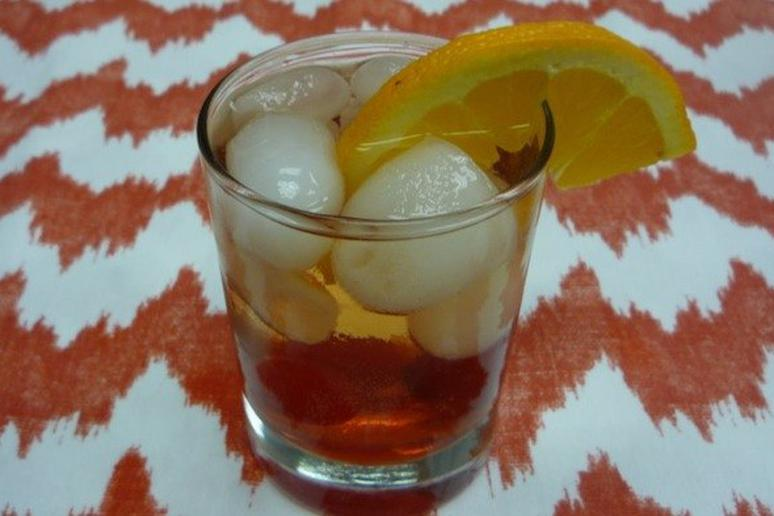 Fizzy Fruit Old Fashioned