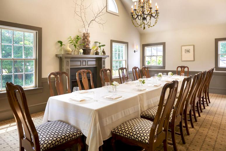 North Carolina:  Fearrington House Restaurant, Pittsboro
