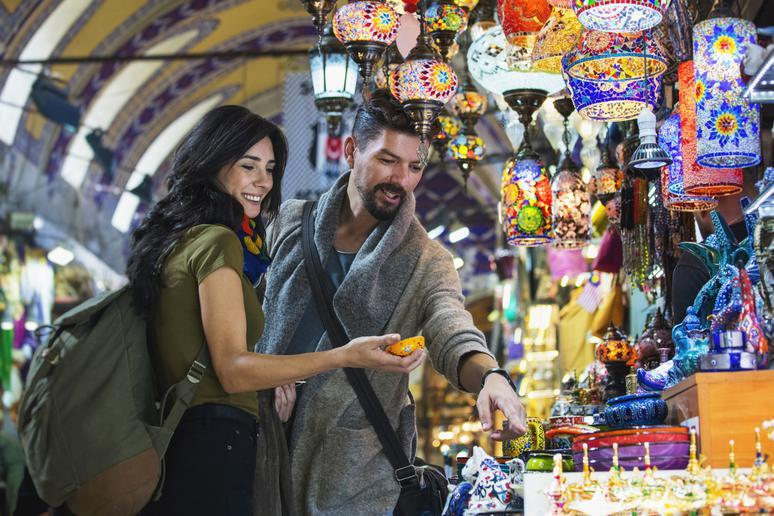 Peruse the Grand Bazaar in Istanbul