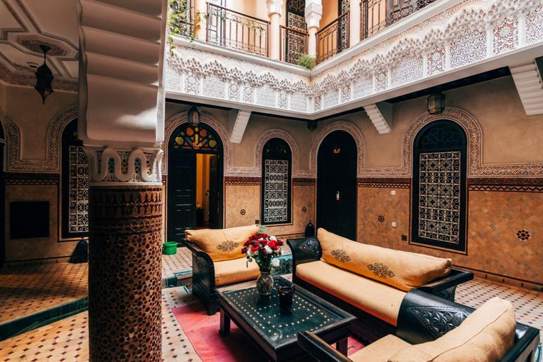 Stay at a riad in Marrakech