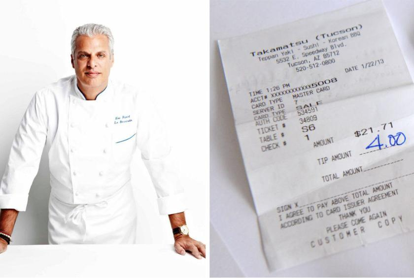 Ripert has adamantly stated his opinion on gratuity before, and he has not let the industry's incoming waves of change sway him.