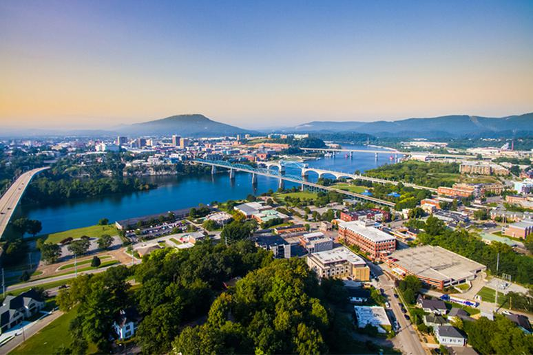 10. Chattanooga, TN