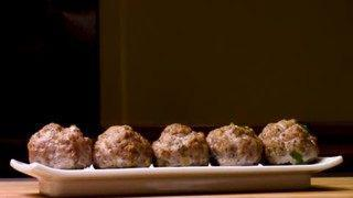 Thanksgiving Stuffing Meatballs