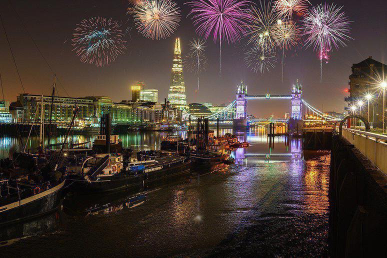 London's New Year's Eve