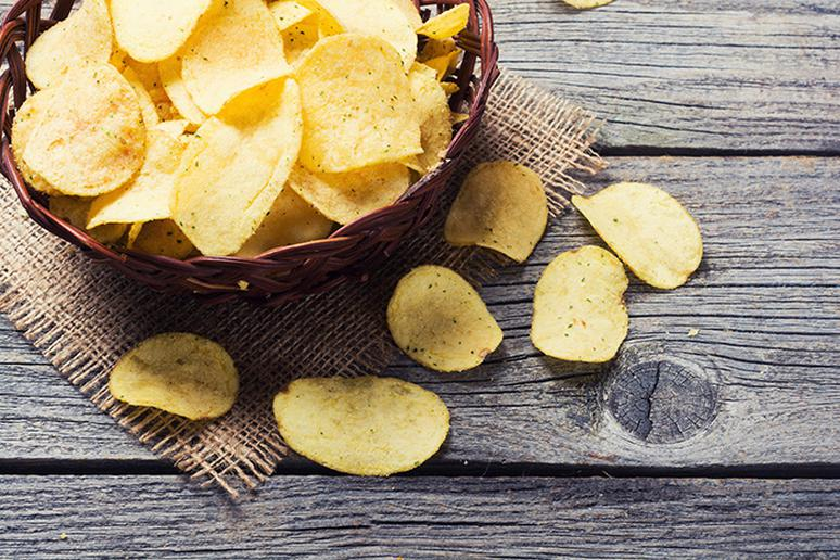 Don't give up eating chips, just eat one serving