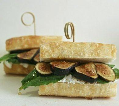 Fig and Goat Cheese Sandwich