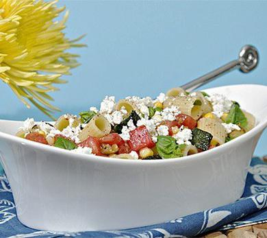 Pasta Salad with Heirloom Tomatoes