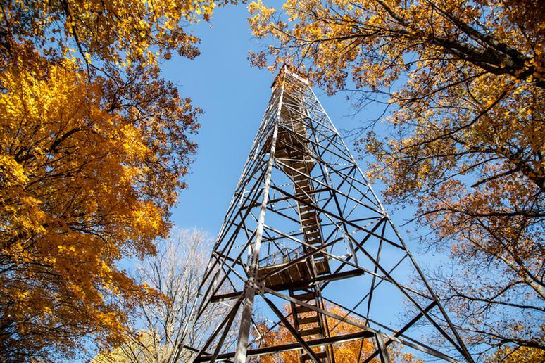 West Virginia: Fire lookout tower