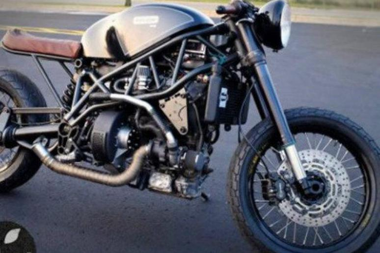 Yum: Motorcycle on a Cross-Country Road Trip Runs on What?!