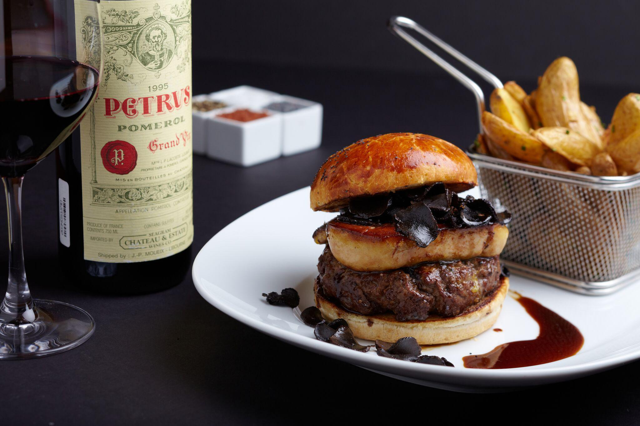 This is the most expensive burger in the world