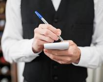 french waiter fired