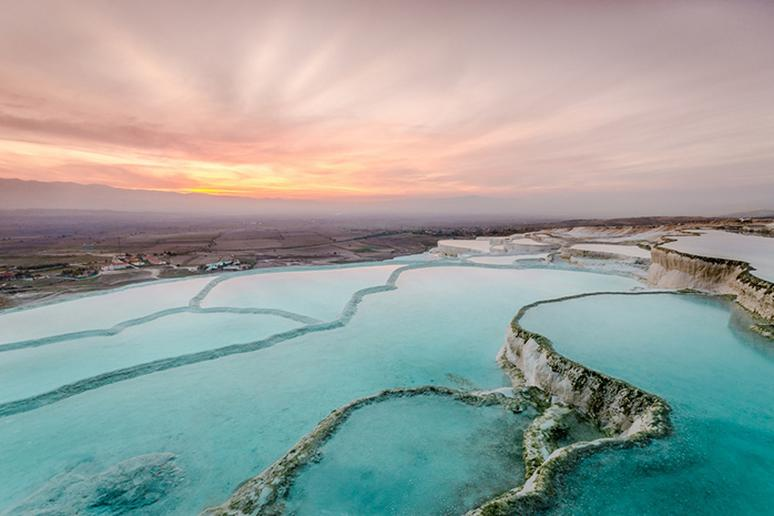 The Pamukkale Thermal Pools, Turkey