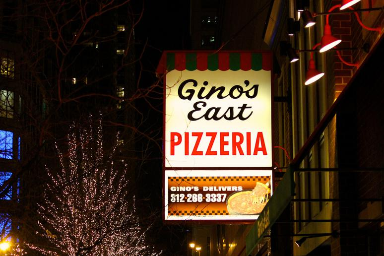 #17 Gino's East, Chicago, Ill. (Cheese Deep Dish)