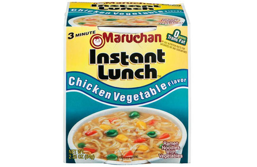 Maruchan Instant Lunch is Slightly