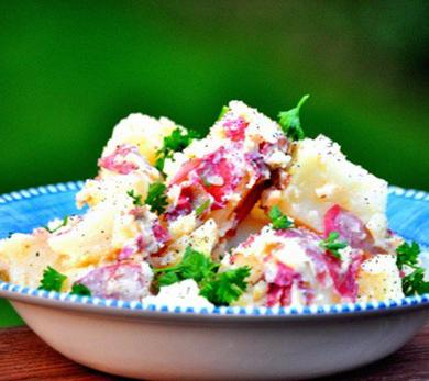 Potato Salad with Parsley Pesto
