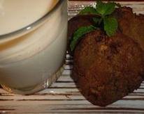Easy to make cool minty cookies