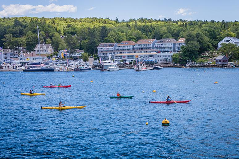 Paddle the U.S. coastline in Maine