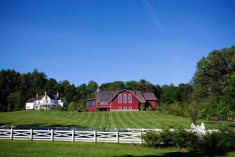Tennessee: The Barn at Blackberry Farm, Walland