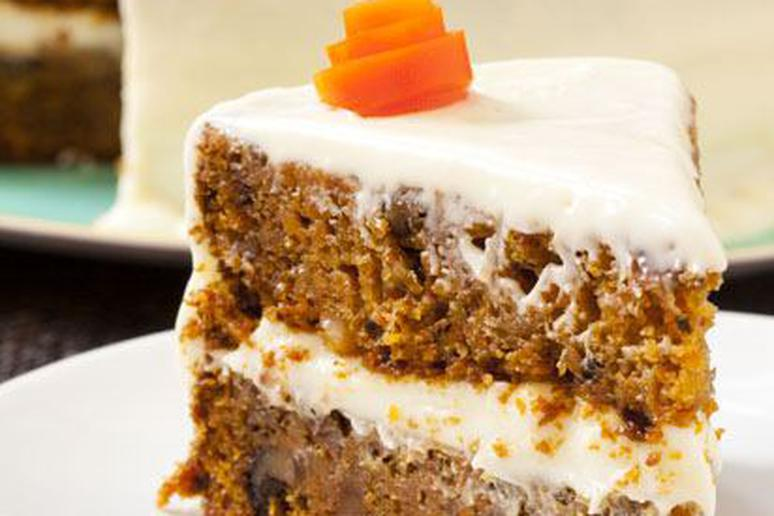 Classic carrot cake recipe by yasmin fahr classic carrot cake forumfinder Images