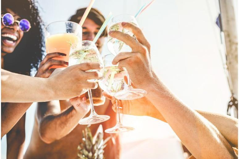 Avoid sugary cocktails