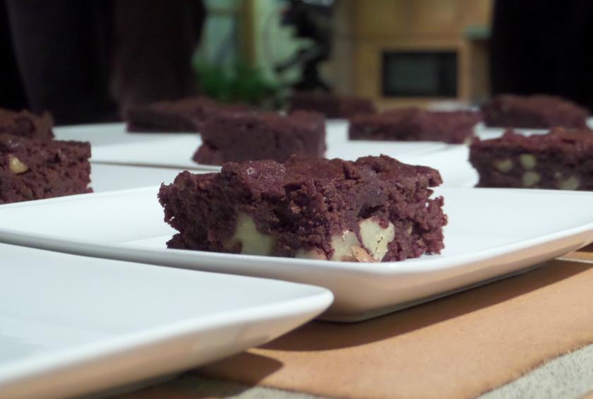 Moist and Fudgy Brownies with California Dried Plums