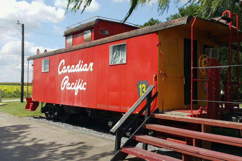 The Red Caboose Motel and Restaurant (Ronks, Penn.)