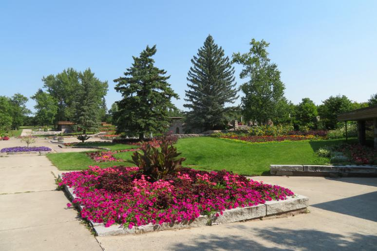 North Dakota: International Peace Garden