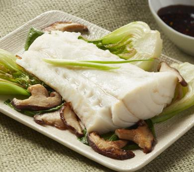 For the Ginger-Steamed Alaska Cod With Chile Soy Dipping Sauce