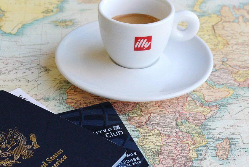 United is Flying High on an Illy Coffee Buzz
