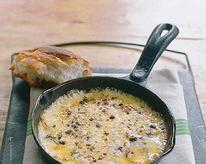 Baked Fontina with Garlic, Olive Oil, and Thyme