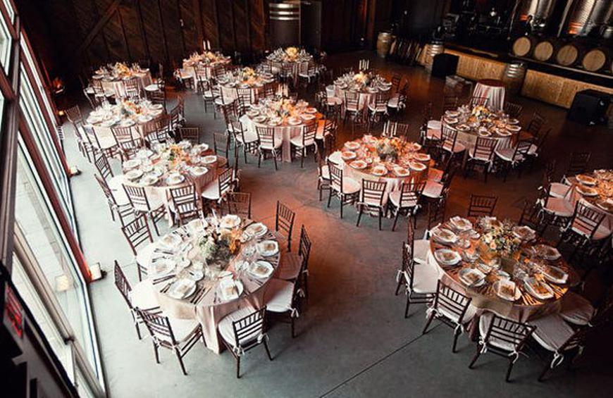 Wedding Receptions Tables.Wedding Reception Seating The Long And The Round Of It