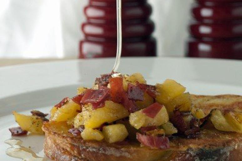 French Toast with Pineapple Marmalade