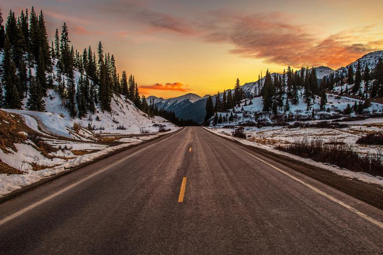 The Most Scenic Winter Drive in Every State