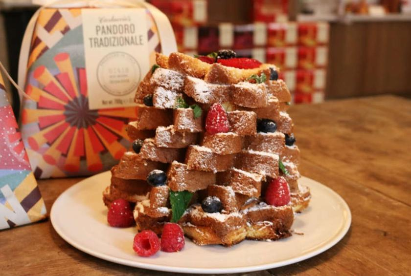 Carluccios offers imported christmas treats for italian food lovers pane doro solutioingenieria Images