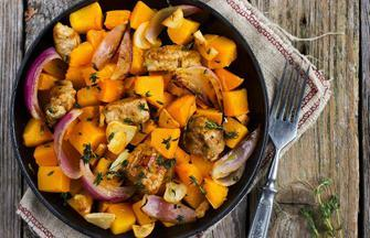 Slow-Cooker Chicken and Butternut Squash