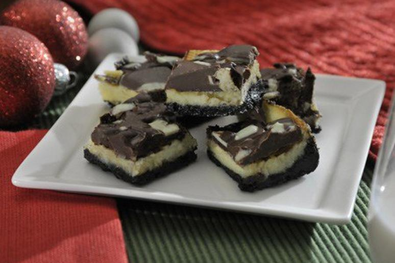 Holiday Mint Squares