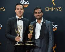 Actors Aziz Ansari and Alan Yang from 'Masters of None'