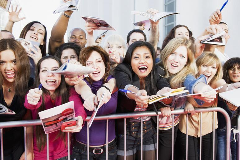 Attracting crazy fans
